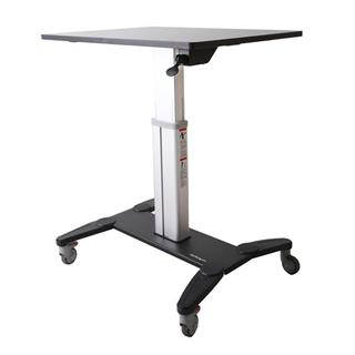 STARTECH MOBILE SIT STAND WORKSTATION    WITH ...