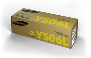CARTUCHO DE TÓNER HP SAMSUNG CLT-Y506L ALTO ·
