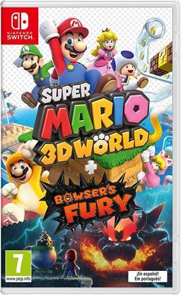 Super Mario 3D World + Bowser´s Fury Nintendo ...