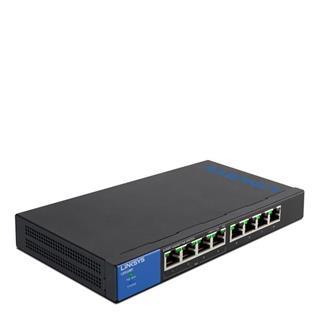 Switch Linksys No Gestionable PoE 8 puertos