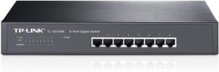 SWITCH 8 PUERTOS 10/100/1000 TP-LINK RACK 13""