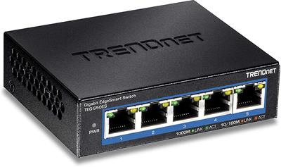 Switch Trendnet TEG-S50ES 5puertos Gigabit ...