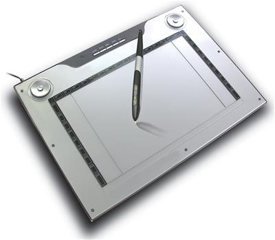 Tableta gráfica Aiptek 14000U 30.5X18.5cm 4000LPI ...
