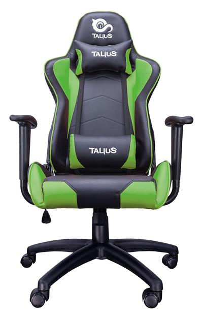 Talius silla Gecko V2 gaming negra/verde. brazos ...
