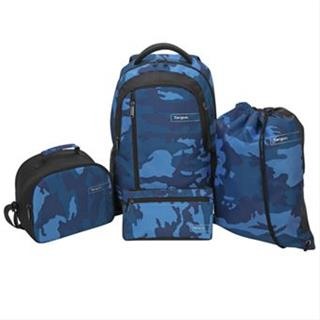 TARGUS SPORT BACKPACK SET BLUE CAMO