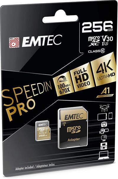 Tarjeta de memoria microSD Emtec Speedin Pro ...