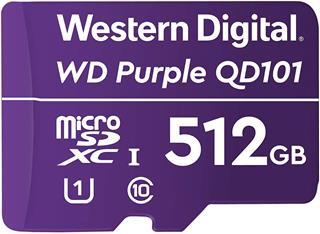 Tarjeta de memoria microSD Western Digital Purple ...