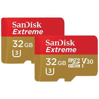 Tarjeta de memoria SanDisk Extreme microSDHC pack ...