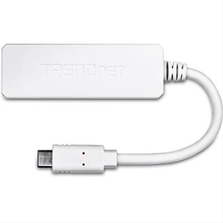 Tarjeta de red Trendnet adaptador de USB-C a Gigabit Ethernet