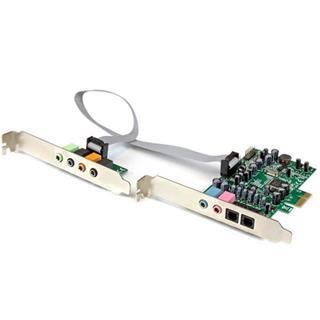 Tarjeta de sonido PCI Express con sonido envolvente de 7.1 canal