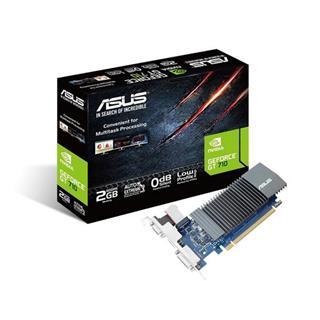 Tarjeta Gráfica  Asus  NV GT710-SL 2G GDDR5