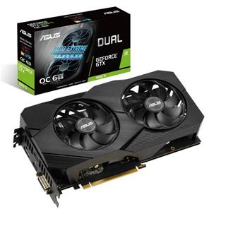 Tarjeta Gráfica Asus Dual GeForce RTX 1660Ti O6G EVO 6GB GDDR6