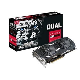 Tarjeta gráfica Asus Dual Radeon RX 580 8GB GDDR5