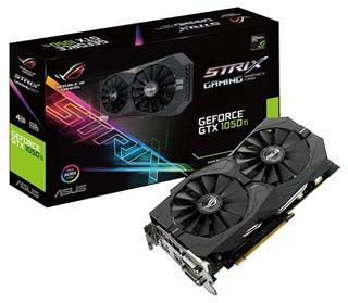 Tarjeta gráfica ASUS STRIX GeForce GTX 1050 Ti  GAMING 4GB GDDR5