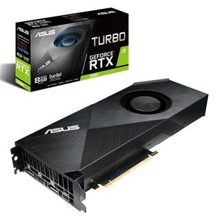 Tarjeta Gráfica ASUSTEK GF TURBO-RTX2080-8G PCIE3   8GB GDDR6