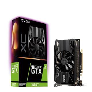 Tarjeta Gráfica EVGA GEFORCE GTX 1660TI XC 6GB GDDR6