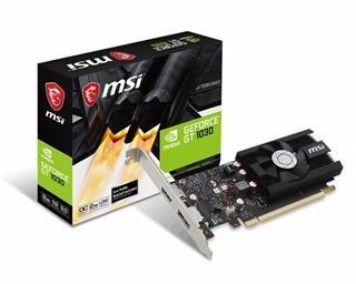 VGA MSI GeForce GT 1030 2GB LP OC-DESPRECINTADO