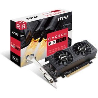 Tarjeta gráfica MSI RX 550 4GT Low Profile 4GB ...