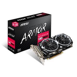 TARJETA GRÁFICA MSI RX570 ARMOR OC 8GB GDDR5