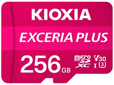 Tarjeta microSD Kioxia Exceira Plus 256GB UHS-I ...