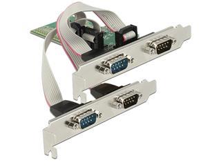 TARJETA PCI EXPRESS Delock 4 x Serie RS-232