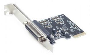 TARJETA PCI EXPRESS PUERTO PARALELO + ADAPTADOR GEMBIRD
