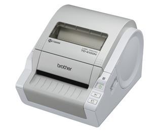 Brother td4100n rd label network printer spa/por