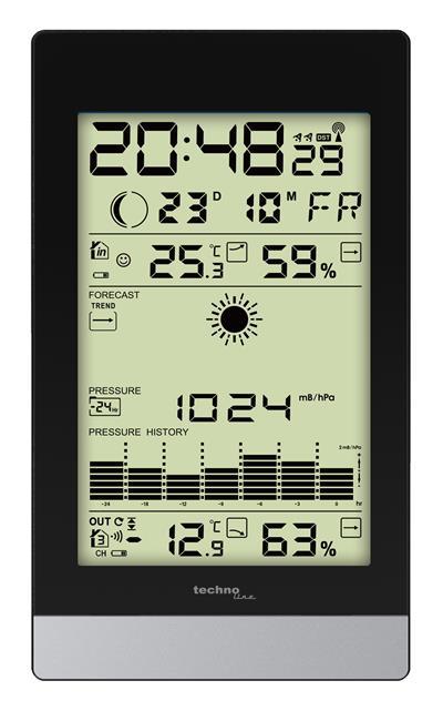Estación meteorológica Technoline WS 9050