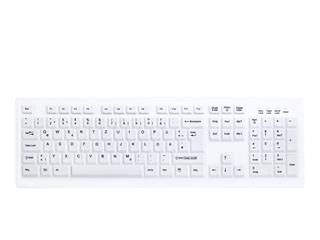 Teclado Active Key C8100F impermeable IP65 blanco