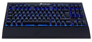 Teclado Corsair K63 ianlámbrico mecánico LED azul ...
