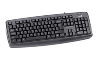 TECLADO GENIUS KB-110X PS2NEGRO