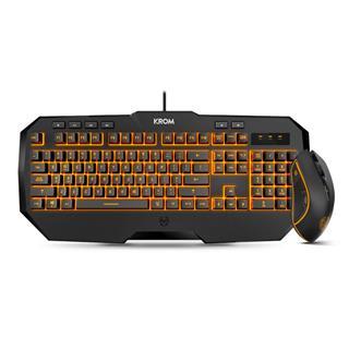Pack Teclado y Ratón Krom Kodex Gaming