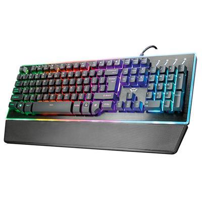 Teclado con teclado Trust GXT 860 Thura ...