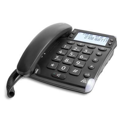 TELEFONO FIJO DORO MAGNA 4000 1 NEGRO