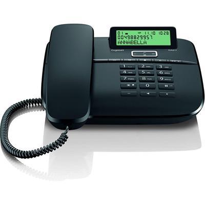 Teléfono fijo Gigaset DA611 negro