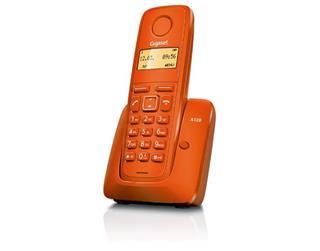 Teléfono Gigaset A120 Inalámbrico Naranja