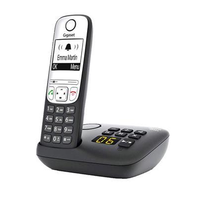 Teléfono Gigaset A690 A inalámbrico negro