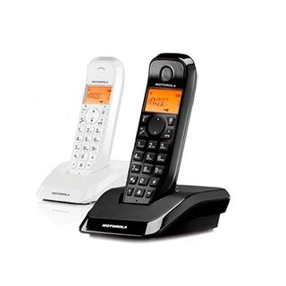 TELEFONO INALAMBRICO DECT DIGITAL MOTOROLA S1202 DUO