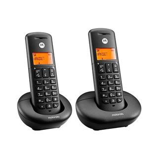 Teléfono inalámbrico Duo DECT DIGITAL MOTOROLA ...