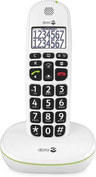 Teléfono inalámbrico Doro Phone Easy 110 1 blanco