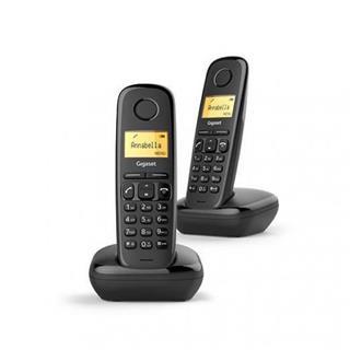 Teléfono inalambrico Gigaset A170 Dúo Negro