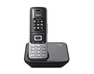 Teléfono inalámbrico Gigaset S850 interfaz Bluetooth con ID de l