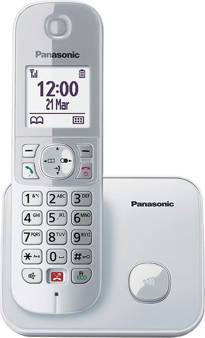Teléfono inalámbrico Panasonic Kx-Tg6851sps Dect ...
