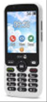 "TELEFONO MOVIL SENIOR DORO 7010 2.8"" 512MB 4GB ..."