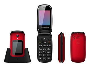Teléfono móvil SUNSTECH CELT22R Rojo