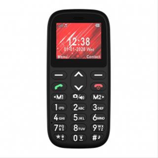 "Teléfono móvil Telefunken S410 2.4"" negro"