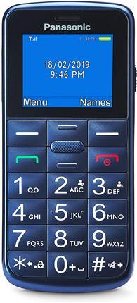 Teléfono Panasonic Kx-Tu110exc teclas grandes azul