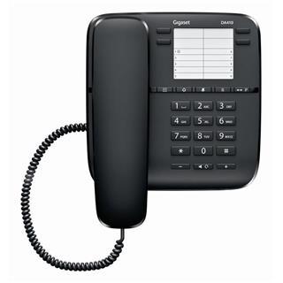 Teléfono Sobremesa Gigaset DA410 Negro