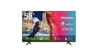 "Televisor Hisense H58AE7000F 58"" ULED 4K Smart TV ..."