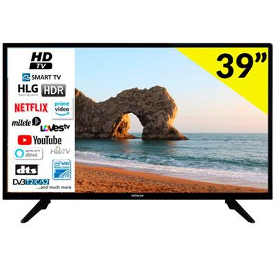 "Televisor Hitachi 39He2200 39"" LED HD Smart TV"